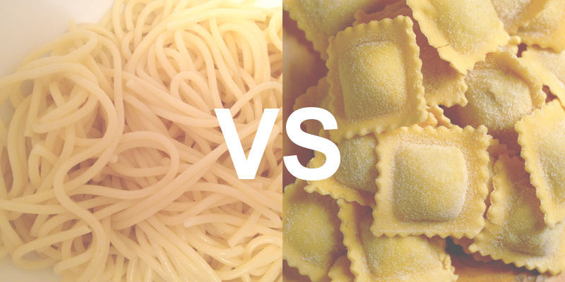 The architecture of a modern CMS is more like ravioli than spaghetti