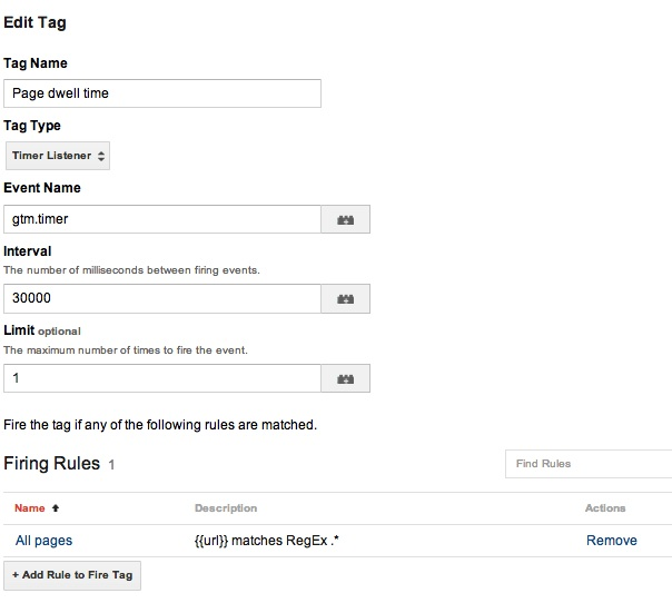 Auto-event tracking: the new timer tag