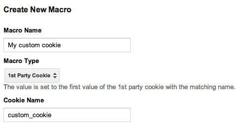 1st Party Cookie