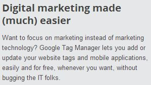 Google Tag Manager snippet