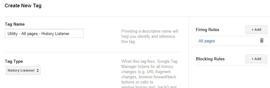 Google Tag Manager: The History Listener | Simo Ahava's blog