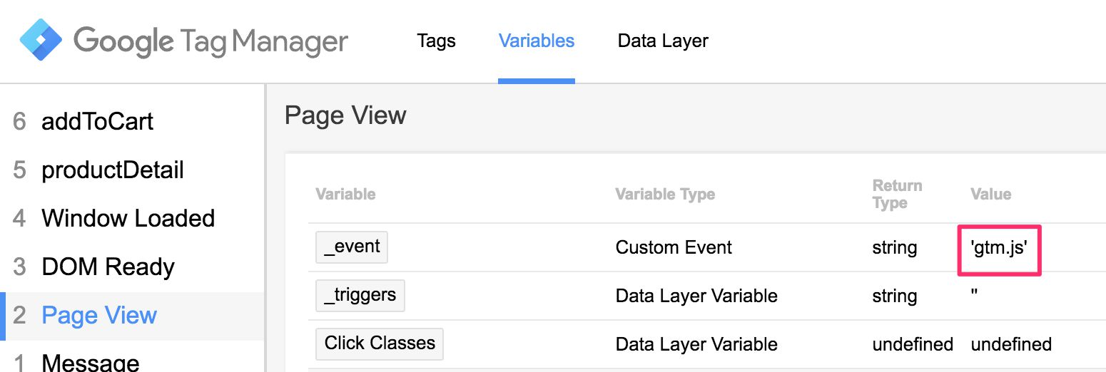 Variable Guide For Google Tag Manager   Simo Ahava's blog