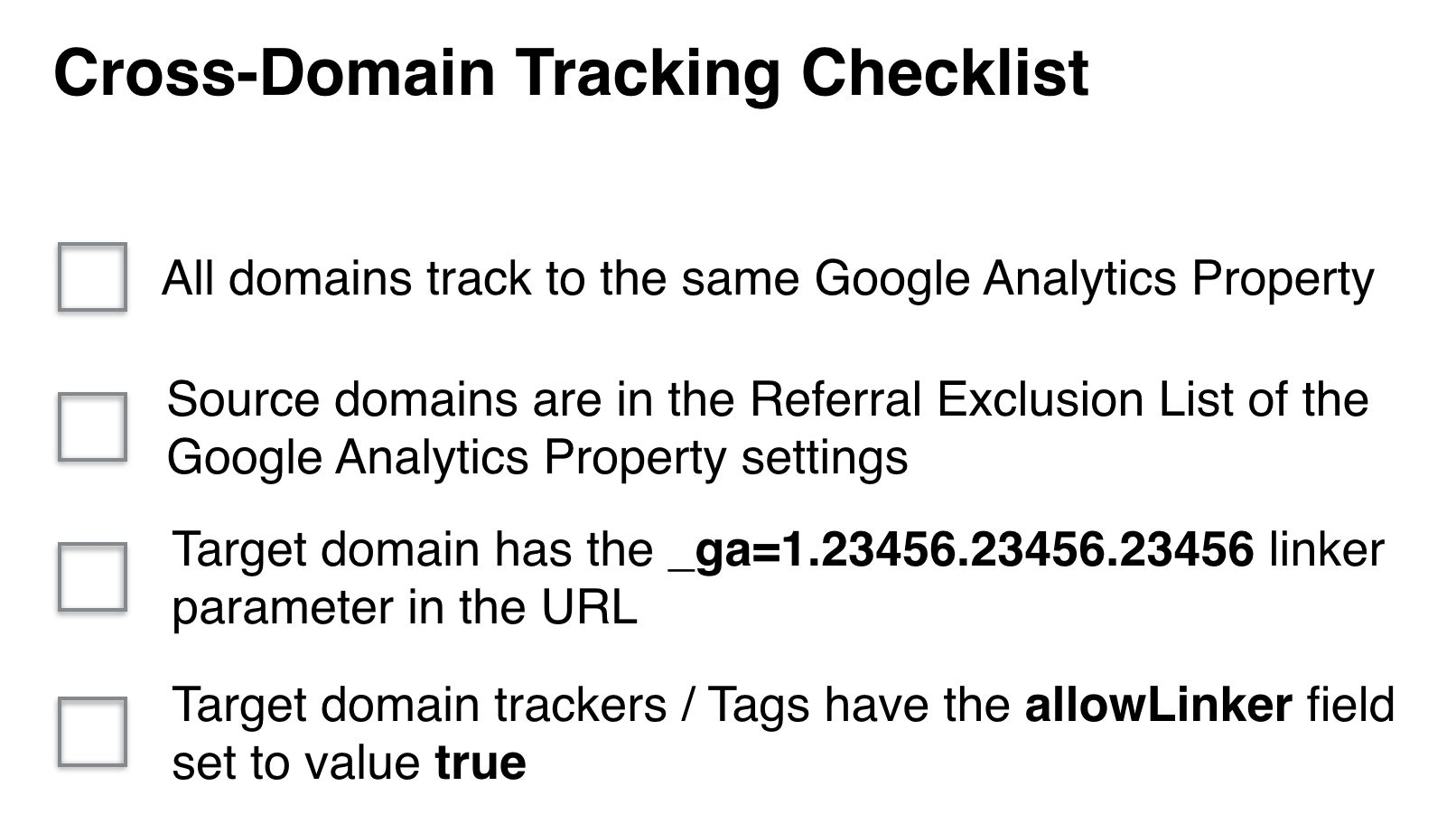 Troubleshooting Cross-Domain Tracking In Google Analytics