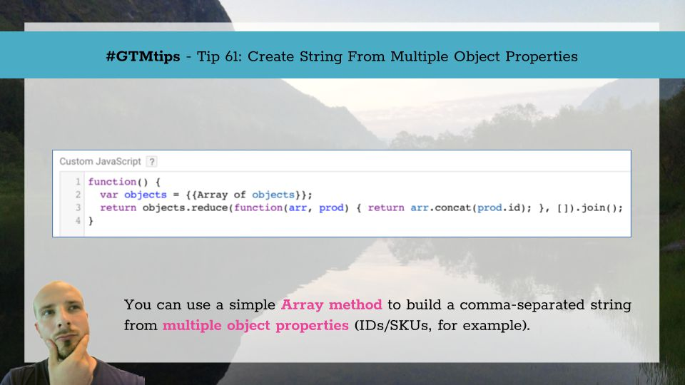 GTMTips: Create String From Multiple Object Properties | Simo