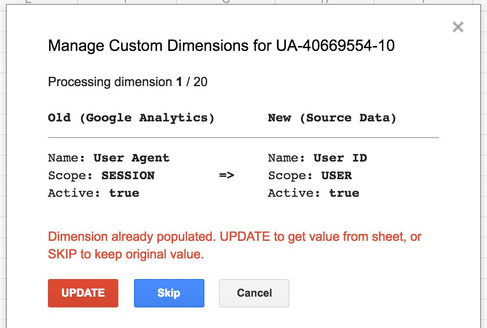Two New Unofficial GA Add-ons For Google Sheets | Simo