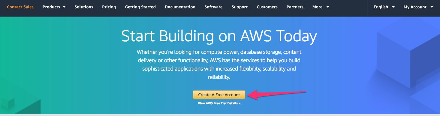 Create free AWS account