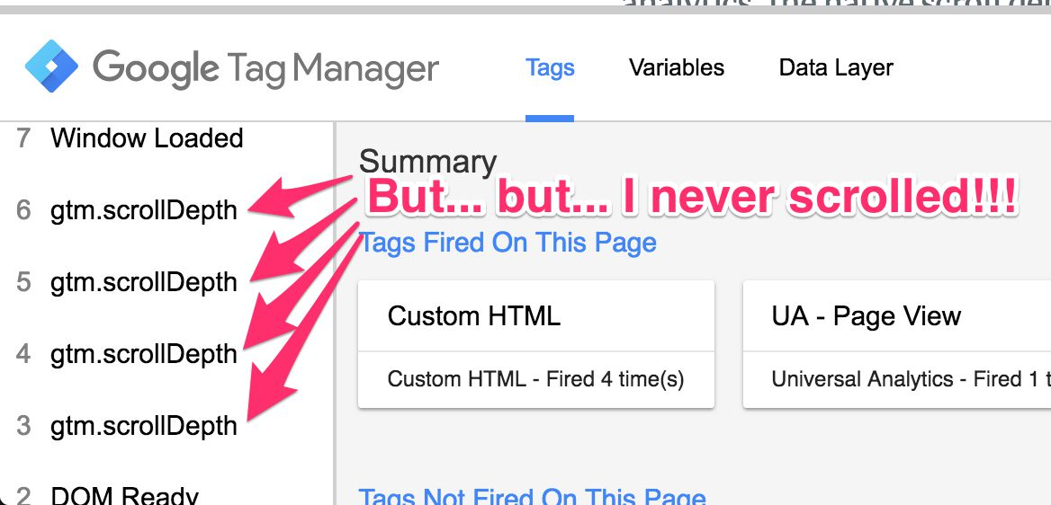 Customize The Scroll Depth Trigger In Google Tag Manager | Simo