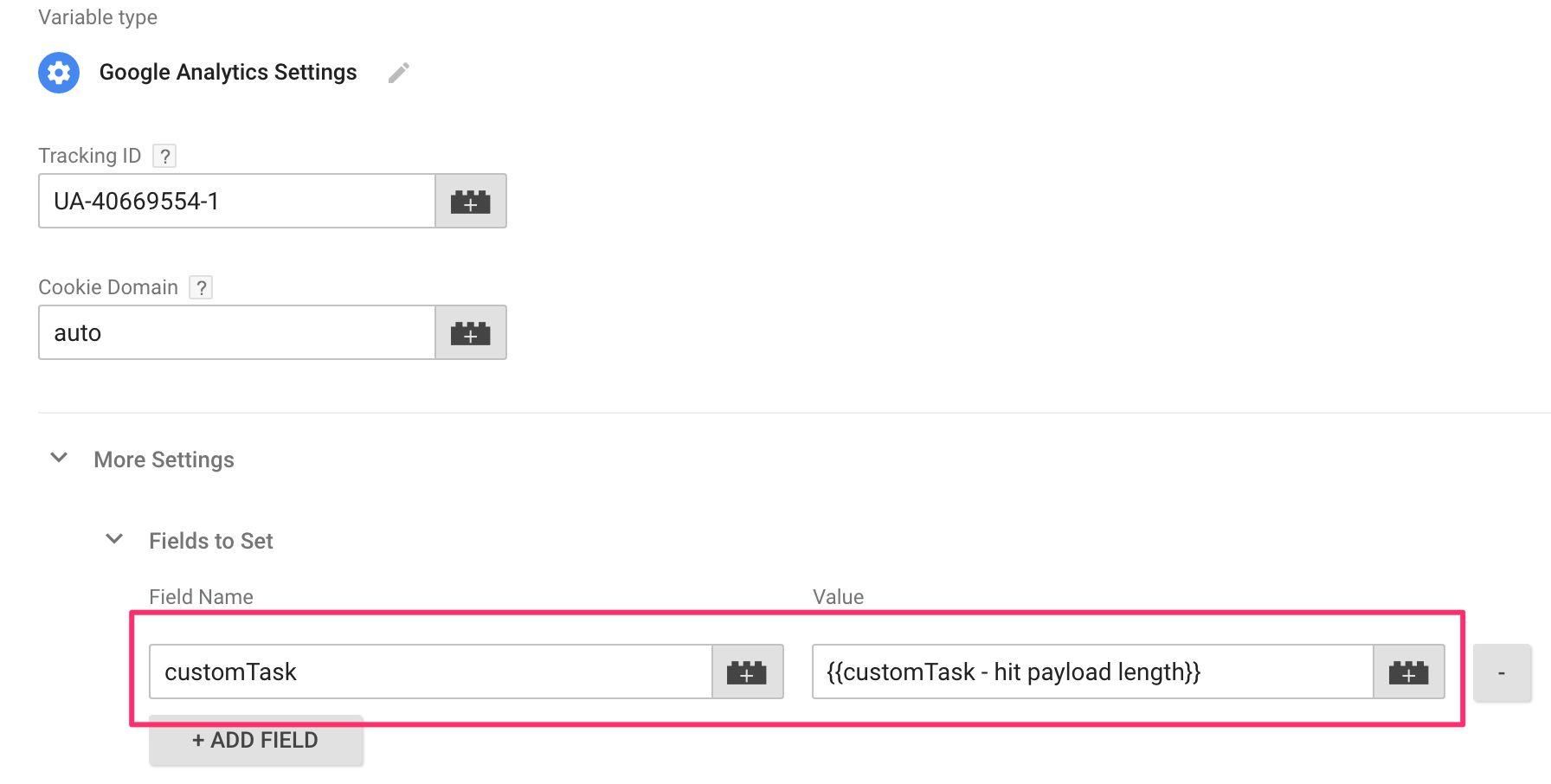 Send Google Analytics Payload Length As Custom Dimension
