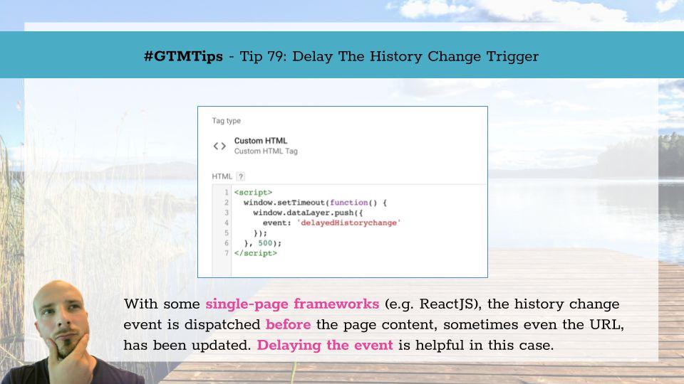 GTMTips: Delay The History Change Trigger | Simo Ahava's blog