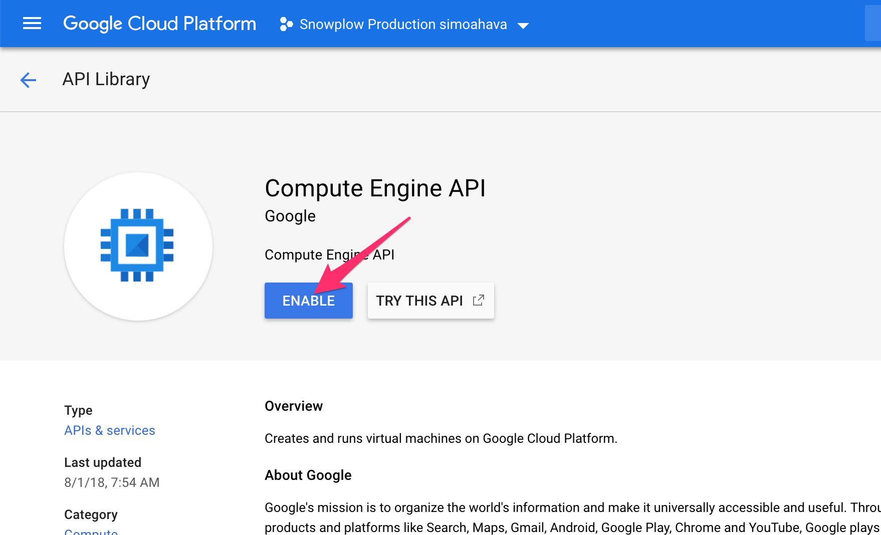 Install Snowplow On The Google Cloud Platform | Simo Ahava's
