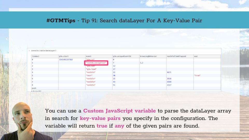 GTMTips: Search dataLayer For A Key-Value Pair | Simo Ahava's blog