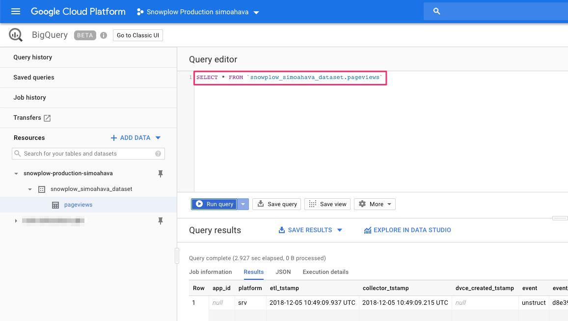Install Snowplow On The Google Cloud Platform   Simo Ahava's