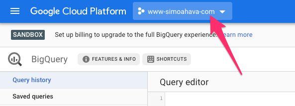 Enable BigQuery Export For Google Analytics: App + Web