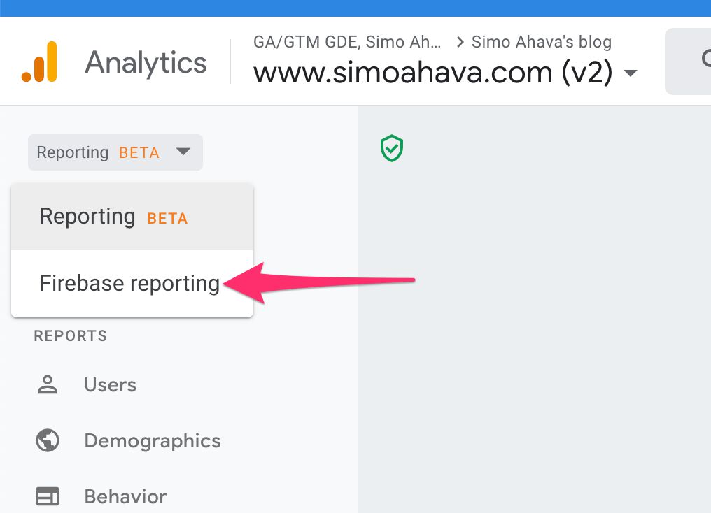 Getting Started With Google Analytics: App + Web | Simo Ahava's blog