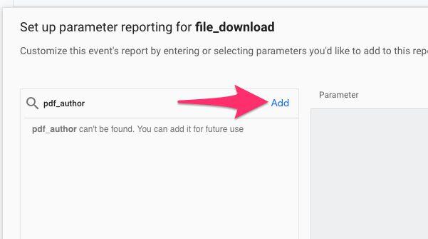 Add missing parameter
