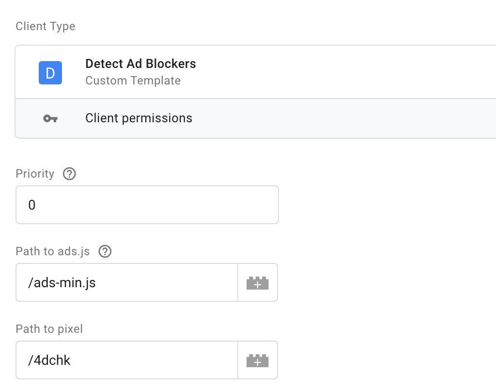 Ad blocker client